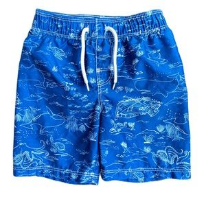 Old Navy toddler swim trunks - size 3 years